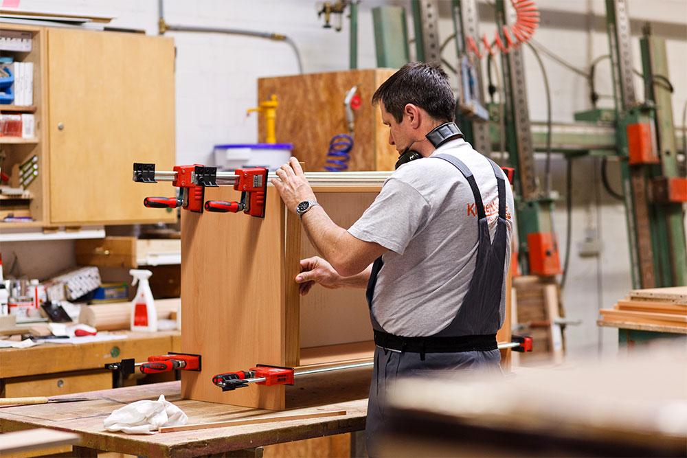 Tischlerei Klauenberg Impression aus der Werkstatt